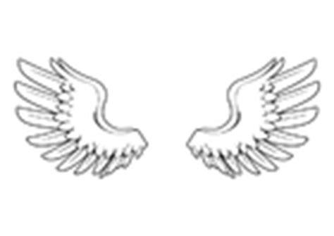 flügel basteln kostüm malvorlage fl 195 188 gel ausmalbild 8723 images