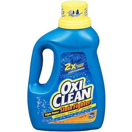 Oxi Clean Triple Power Fresh Scent Stain Fighter, 64 Oz