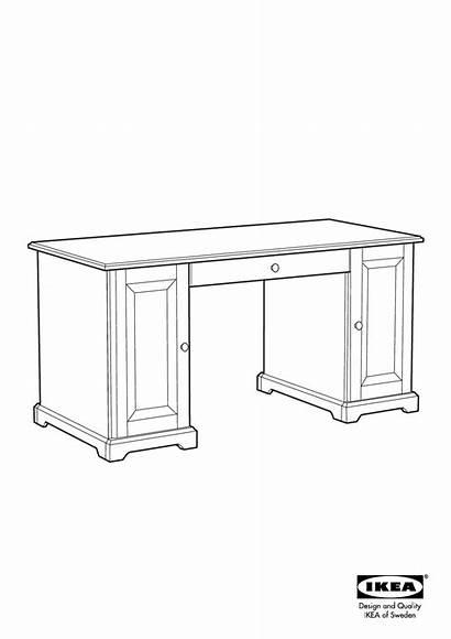 Liatorp Desk Ikea Assembly 8x25 Instruction Manual
