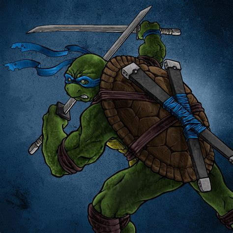 TMNT: Leonardo by DoneCreative on DeviantArt