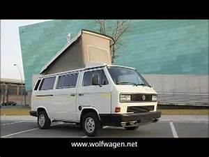 Volkswagen T3 Westfalia : campervan volkswagen california t3 westfalia youtube ~ Nature-et-papiers.com Idées de Décoration