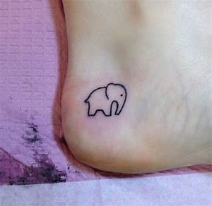 cute elephant tattoo | Tattoos and Piercings | Pinterest ...