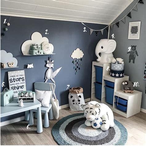 chambre garcon gris deco chambre garcon bleu et gris