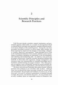 Responsible Science  Volume I  Ensuring The Integrity Of