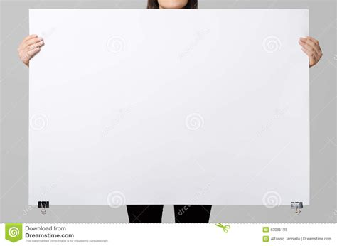 Blank Billboard Template woman holding  blank poster stock photo image 1300 x 951 · jpeg