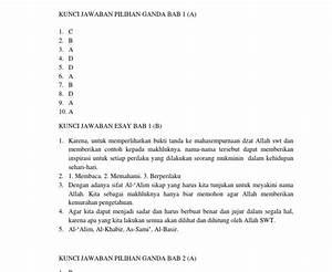 Kunci Jawaban Agama Kelas 8 Bab 6 Kunci Jawaban