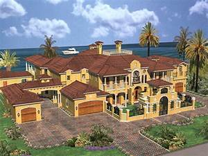 Cedar Palm Luxury Florida Home Plan 106S-0069 House