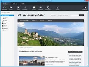 Homepage erstellen mit onlineshop