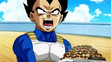 vegeta cooking  lord beerus dragon ball super episode