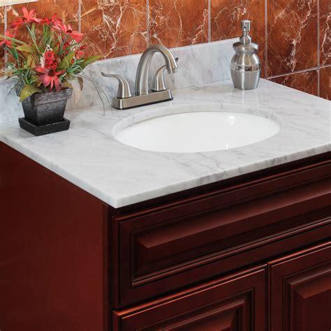 natural marble vanity tops  lesscare shop bathroom