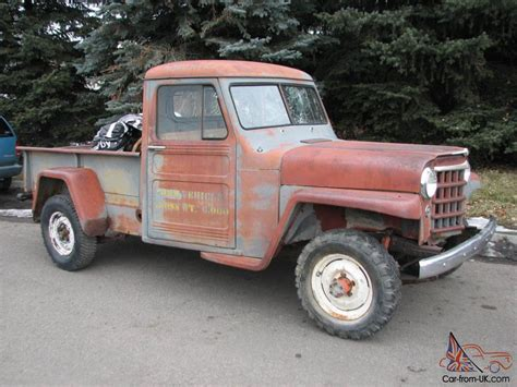 Willys Overland Jeep Pickup For Sale Pictures