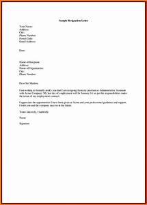 Job Resignation Format Regine Letter Format In English New Resignation Letter