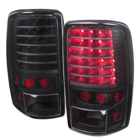 blacked out tail lights gmc yukon denali 2001 2006 blacked out led tail lights