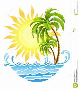 Bilder Von Palmen : tropische palmen mit sonne und ozean lizenzfreie stockfotos bild 13313678 ~ Frokenaadalensverden.com Haus und Dekorationen