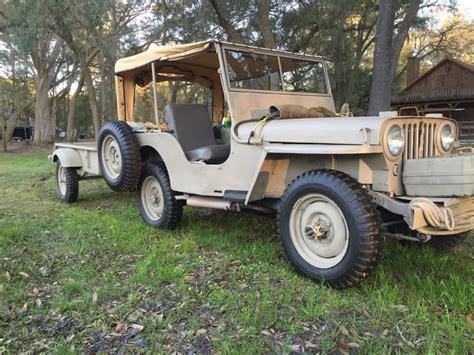 1945 Jeep Willys CJ2A for sale