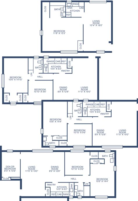 floor plans lafayette college university of pittsburgh housing services