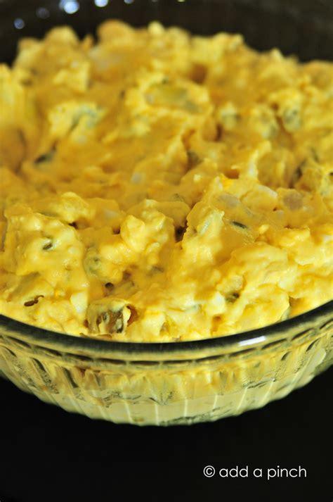 southern potato salad recipe add  pinch