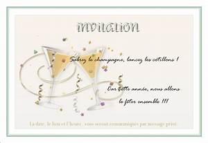 Carte Nouvelle Année : carte invitation nouvelle annee ~ Dallasstarsshop.com Idées de Décoration
