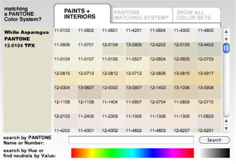 pantone paint color selector color4u