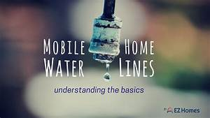 Mobile Home Water Lines  Understanding The Basics