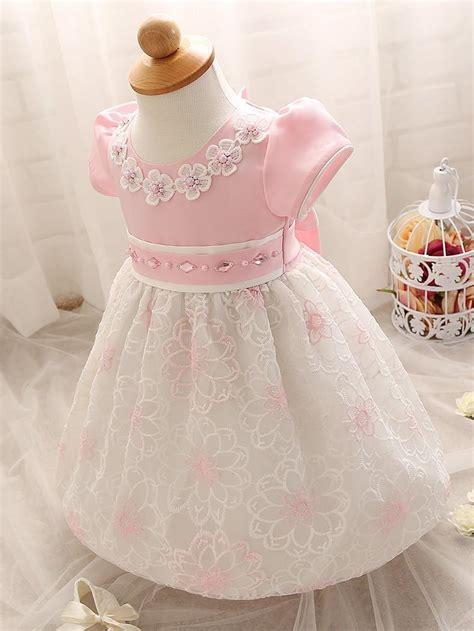 baby dresses girl  fashion dress baptism flower dress