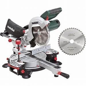 Type De Scie : scie onglet radiale metabo kgs 216 m 2 me lame offerte ~ Premium-room.com Idées de Décoration