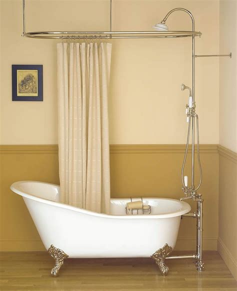 bathroom designs with clawfoot tubs inspiring bathroom decor with clawfoot tub shower oval