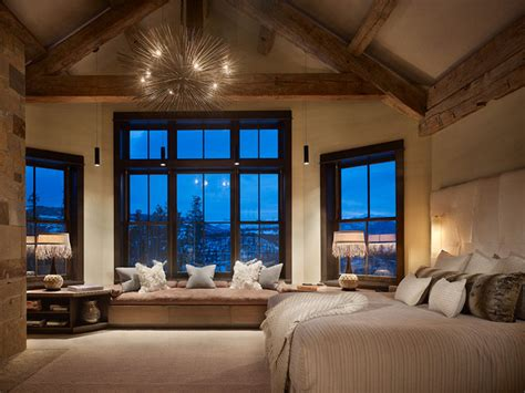 rustic modern bedrooms rustic contemporary master contemporary bedroom denver by highline partners ltd