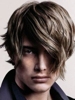 layered hair styles  men