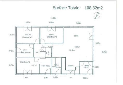 plan d une maison 100m2 plans de maison maison 100m2 maison et plan maison