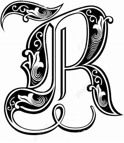 Picsart Clipart Transparent Tattoo Alphabet Sticker Bw