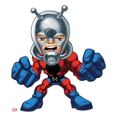 Marvel Super Hero Squad Antman Standing Posters At