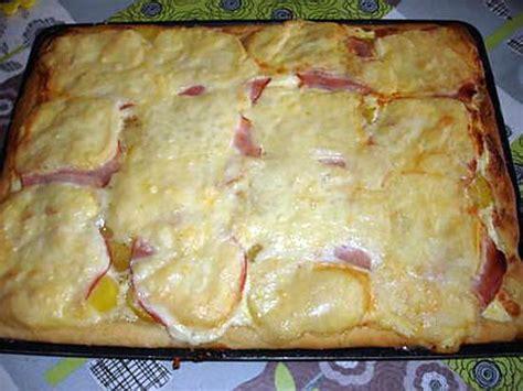 recette de pizza p de terre bacon et fromage 224 raclette