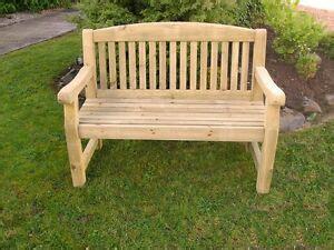 athol chunky  foot wooden garden bench brand  summer