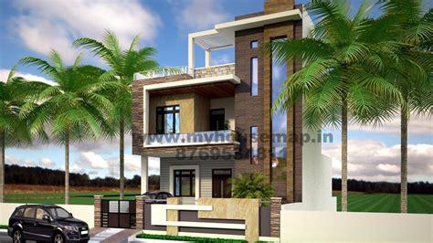 modern elevation bungalow design front elevation design