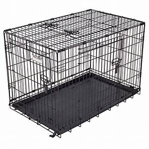 triple door great crate elite by precision pet bed With precision dog crate divider