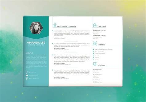 horizontal resume layout 1000 ideas about my cv on cv design template