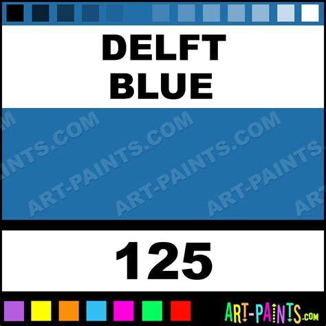 delft blue designer gouache paints 125 delft blue