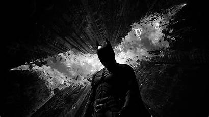 Batman Dark Bw Hero Desktop Laptop Wallpapers