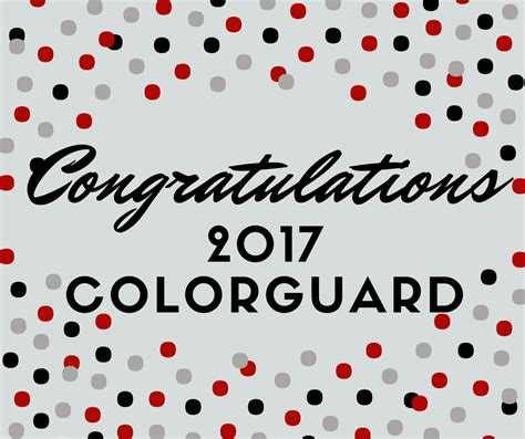 color guard announced woodland high school bands