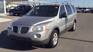 Silver 2006 Pontiac Montana Sv6 Extended Minivan At