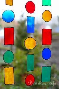Basteln Sommer Kinder : basteln mit kindern sommer bunte window color kette ~ Markanthonyermac.com Haus und Dekorationen