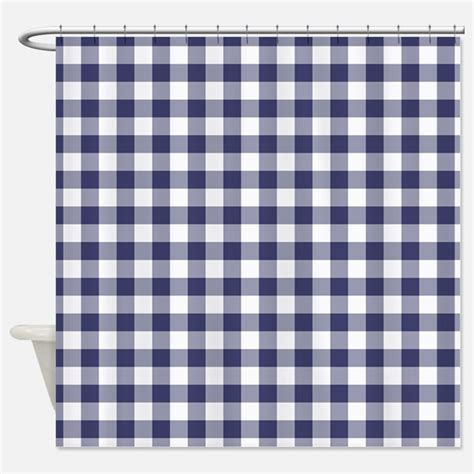 blue gingham shower curtains blue gingham fabric shower