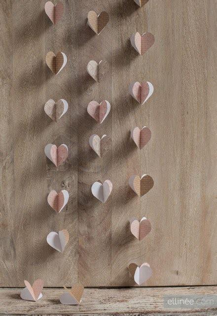 freebie  tutorial paper heart garland  ellinee