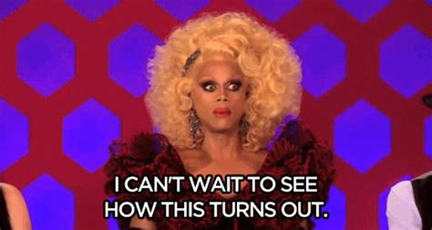 Rupaul Memes - i can t wait to see how this turns out tyra banks reaction gifs