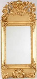 Runde Spiegel Mit Rahmen : rokoko spiegel mitte 18 jh vergoldet 143x65 cm barock louis vx m bel kunsthandwerk ~ Bigdaddyawards.com Haus und Dekorationen