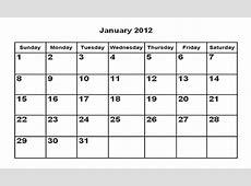 chinese new year january 2012 calendar printable