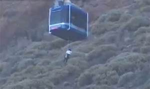 Passengers stuck in cable car above Tenerife volcano ...