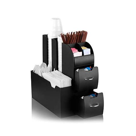 Keep sugar packets and creamers organized and in the same location! Mind Reader Coffee/Tea Station Condiment Organizer - 7720106 | HSN
