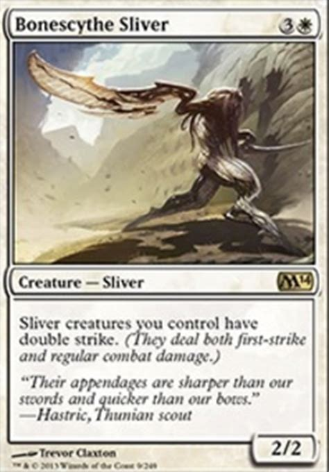 Mtg Sliver Deck Budget by Bonescythe Sliver 1 79 Price History From Major Stores